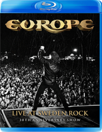 Europe Live at Sweden Rock Blu-Ray cover artwork