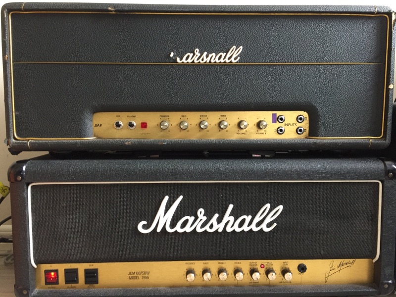 1971 50 Watt bass model 1986 and 100 Watt 2555 model