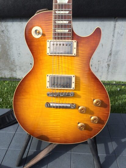 Gibson Les Paul Custom Shop 1958 - front zoomed