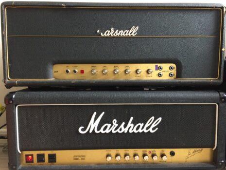 1971 50 Watt bass model 1986 and 100 Watt 2555 model