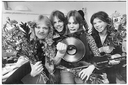 ROCK SM 1982 Ceremony