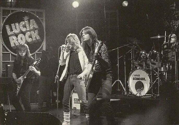 ROCK SM 1982 live