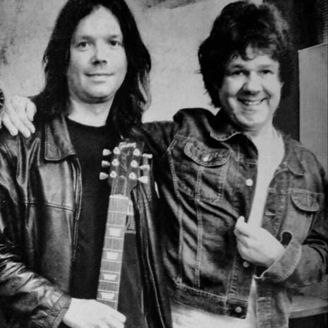 John Norum with Gary Moore