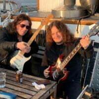 John Norum with Fredrik Ã…kesson