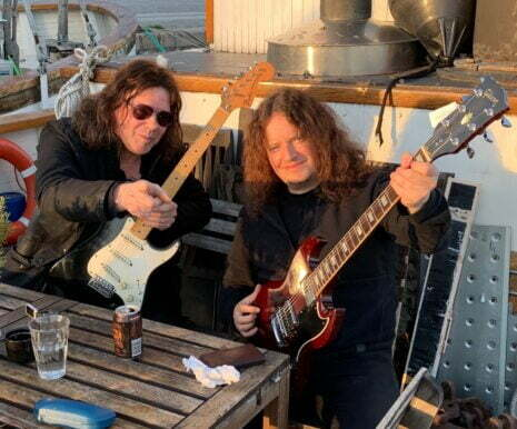 John Norum with Fredrik Åkesson