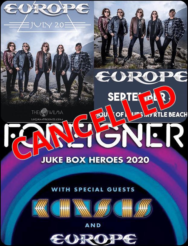 WTE US tour 2020 cancelled