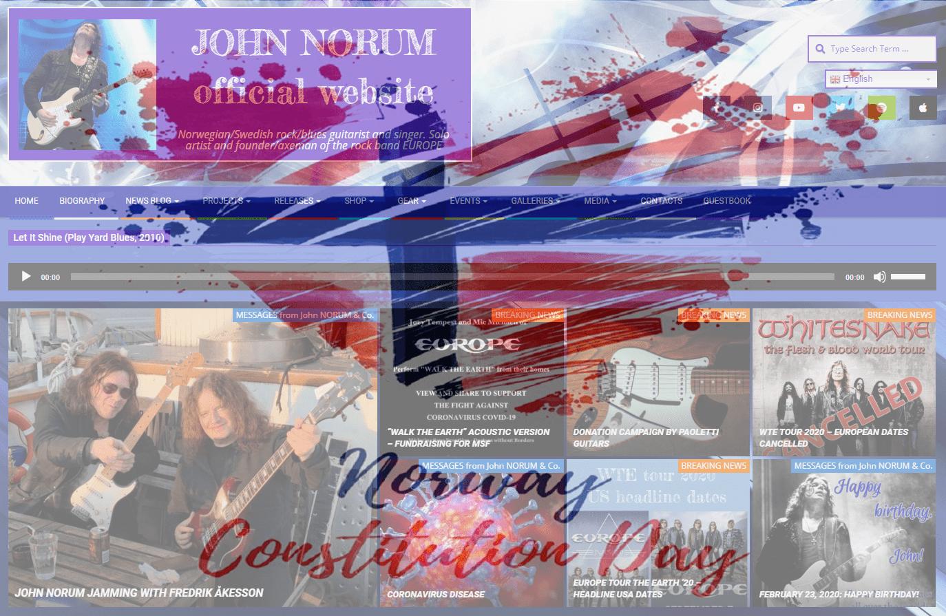 JohnNorum.se 10th Anniversary