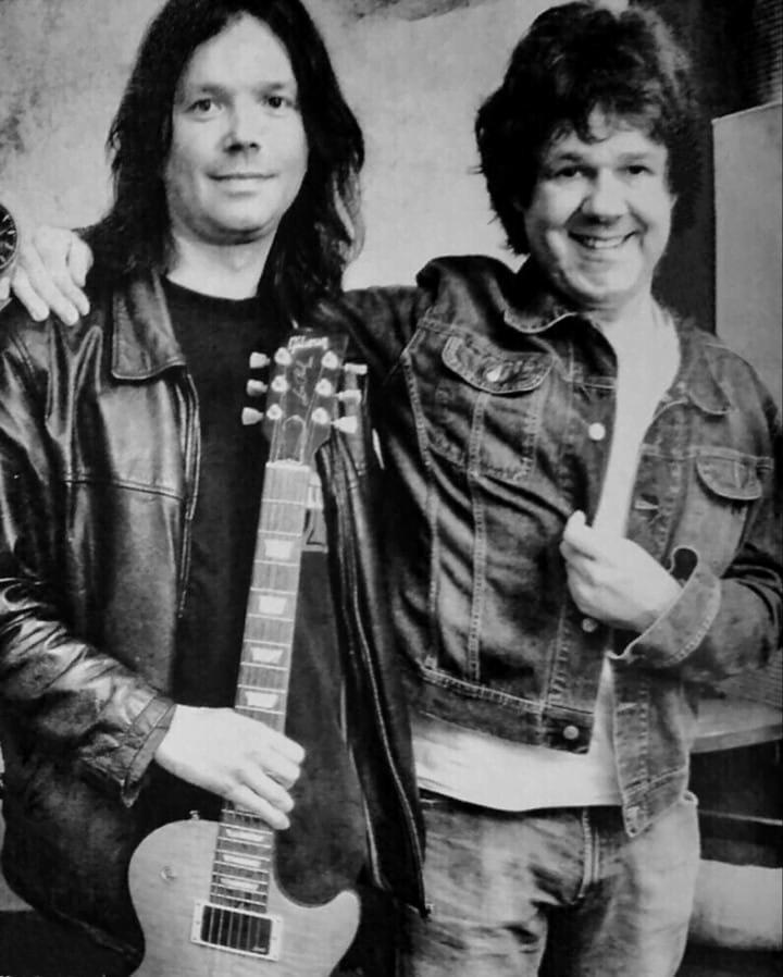 John Norum and Gary Moore