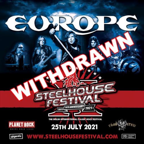Steelhouse 2021 withdrawn