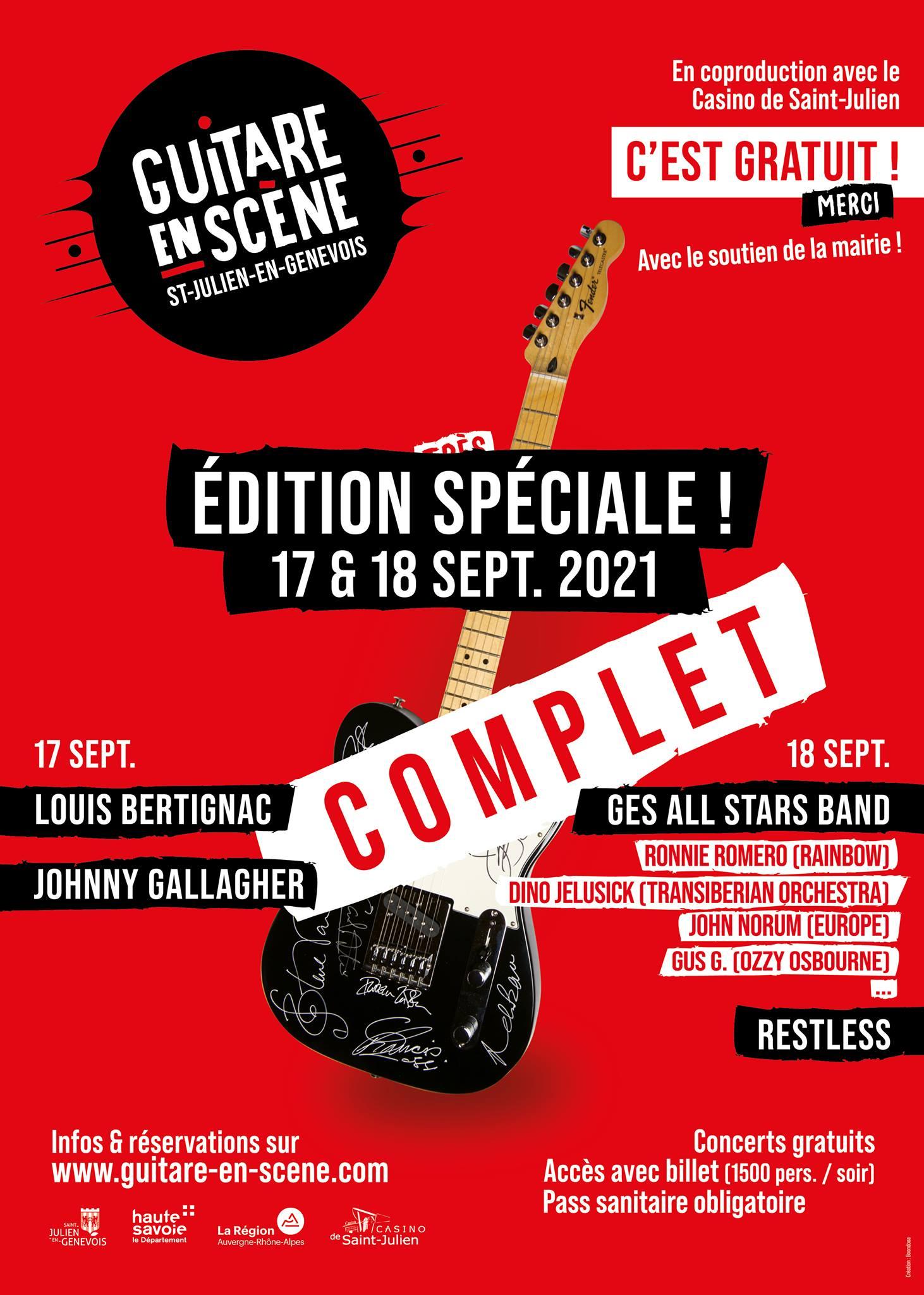 Guitare en Scene Festival 2021