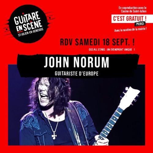 John Norum - GES All Stars Band 2021