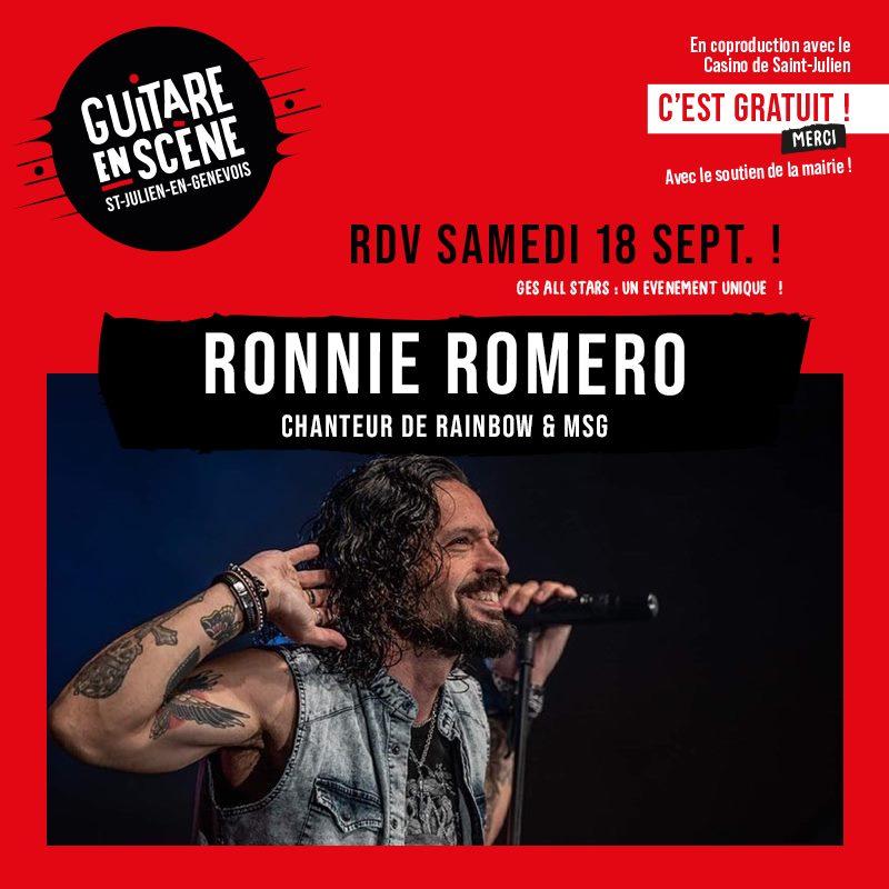 Ronnie Romero - GES All Stars Band 2021